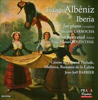 NEW Albeniz: Iberia, Cantos de Espana, Prelude, Mallorca (Audio CD)