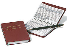 Flight Crew Logbook by Crewgear - Airline & Charter Pilot Trip & Expense Record