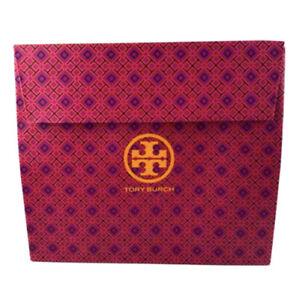 TORY BURCH Paper Gift Bag Large Flap Closure