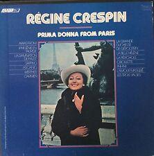 REGINE CRESPIN-PRIMA DONNA FROM PARIS-ORIGINAL LONDON ffrr-2 LP BOX SET-IMPORT