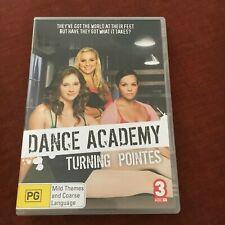 DANCE ACADEMY DVD. TURNING POINTES. ABC.