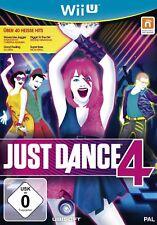 Just Dance 4 Nintendo Wii U New+Boxed
