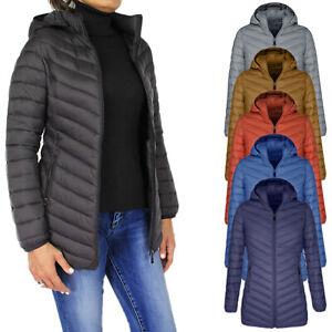 Giubbotto piumino donna nero casual giacca giubbino 100 grammi con cappuccio