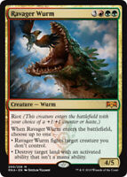 Ravager Wurm - Ravnica Allegiance - MP, English MTG Magic FLAT RATE SHIP