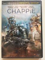 Chappie DVD NEUF SOUS BLISTER Sharlto Copley, Hugh Jackman, Sigourney Weaver
