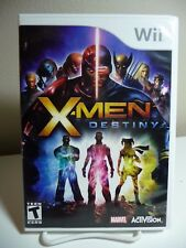 Wii Game X-Men Destiny Complete With Disk Case & Manual