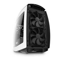 NZXT Manta No Power Supply Mini-ITX Case (Matte White/Black)