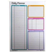 A5 Daily Planner Notepad – 50 Sheets Per Pad - Size 210mm x 148mm