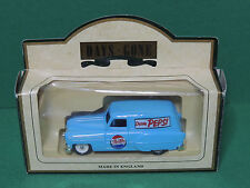 "Lledo 1953 Blue Pontiac Delivery van ""PEPSI COLA"" Promotional diecast Days-Gone"