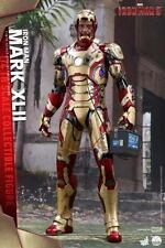 "Iron Man 3 Mark XLII (42) Hot Toys 1/4 Scale 20"" Figure Marvel MCU Tony Stark"