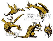 Hanna Barbera MODEL SHEET PRINT - The HERCULOIDS - ZOK