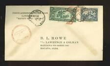 Haiti, Lindbergh: cover flown in Spirit of St.Louis, 1928