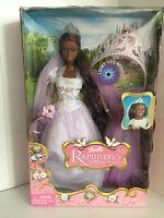 RAR!Barbie Collector Rapunzel`s Wedding African American mit leuchtende  NRFB