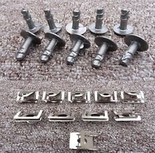 PORSCHE ENGINE UNDERTRAY CLIPS SPLASHGUARD SHIELD BOTTOM COVER FASTENER