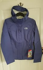 North Face RRP110 Venture Jacket Womans Extra Small XS Lilac Purple Fjord Blue