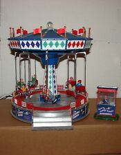 2009 used Lemax The Cosmic Swing #94956 animated, lights, & sounds