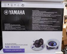 Yamaha NS-IC600 2-Way In-Ceiling Speaker System White ( Pair ) NSIC600