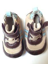 Robeez Crib Shoes Size 3~ Beige Canvas