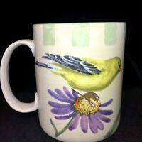 Lenox Summer Greetings GOLDFINCH  Coffee Mug Catherine McClung