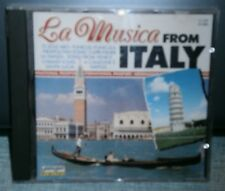 BRUNO BERTONE AND HIS MANDOLINE ORCHESTRA - LA MUSICA FROM ITALY - CD ALBUM