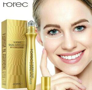 ROREC Anti-Wrinkle Puffiness Snail Eyes Cream Serum Collagen Essence Hyaluronic