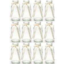 Flaschen Hochzeitsdeko Deko Dekoflaschen Vasen Kerzenständer H 20,5 cm 12-tlg
