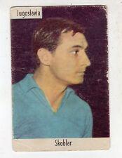 [KHJ] FIGURINA CALCIATORI CARTONATA SAIM 1961/62 - JUGOSLAVIA SKOBLAR