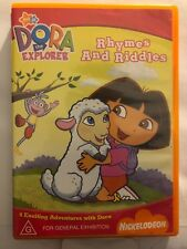 DORA THE EXPLORER - RHYMES AND RIDDLES (R4-PAL-ACCEPTABLE) - DVD #1160