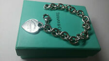 TIFFANY & Co BRACCIALE Argento 925 CUORE list €300 G.35 ! Please RETURN to