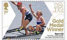 UK Team GB Gold Medal Winner Single Stamp - Katherine & Sophie MNH 2012