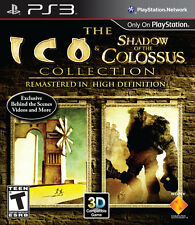 The Ico & Shadow of the Colossus Collection (PlayStation 3, 2011) PS3 Complete