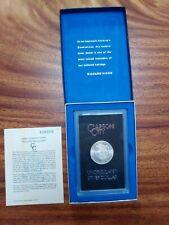 1881 CC Morgan Silver Dollar - Beautiful Coin - Box & Shown Cert Included