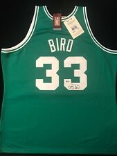 e7714fcdcbe LARRY BIRD SIGNED BOSTON CELTICS MITCHELL   NESS AUTHENTIC JERSEY BECKETT  BAS