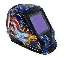 "4-Sensor Auto Darking Welding Helmet #5-#13 Shade 3.94""X3.86"" View Area 990TUSA"
