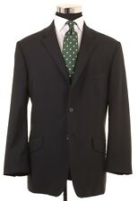 Paul Smith The Westbourne Made in ITALY Black Wool Sport Coat Jacket 46 R