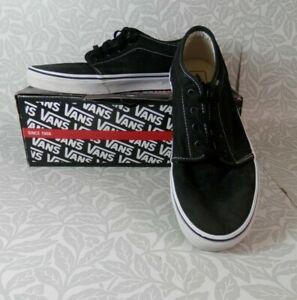 Men's Vans Black/White 106 Vulcanized, UK Size 11
