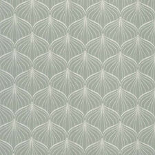 AU MAISON Wachstuch Alli Verte graugrün pastell beschichtete Baumwolle 0,5 Meter