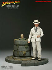 1/6 sideshow indiana jones belloq exclusive  deluxe set mib