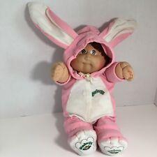 Original Cabbage Patch Kids Doll Pink Bunny Rabbit Costume 1978-1982 W Diaper