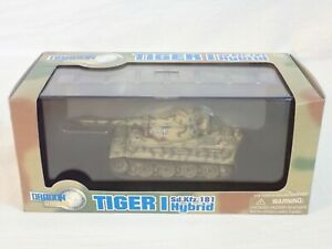 DRAGON ARMOR 60289 1:72 TIGER I SD.KFZ.181 HYBRID 411 S.PZ.ABT.506 ARDENNES 1944