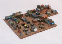 Crazy Joe's tin shacks 6mm scale 1/300 Epic Battletech Dirtside