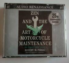 Robert M Pirsig Zen And The Art Of Motorcycle Maintenance CD Audiobook 25th