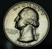 1932 S Washington Quarter - AU Details !!