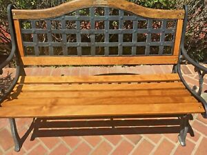 Replacement Oak Bench Slat Stained, Predrilled, Clear Coated American Made