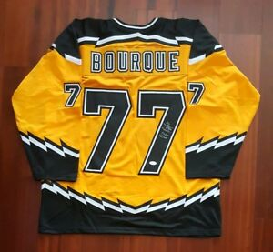 Ray Bourque Autographed Signed Jersey Boston Bruins JSA