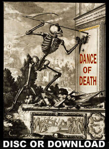 DANCE OF DEATH MACABRE BOOK SCANS - Bizarre Antiquarian Volumes & Prints Scanned