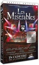 Les Miserables 25th Anniversary in Concert DVD 2011 Region 2