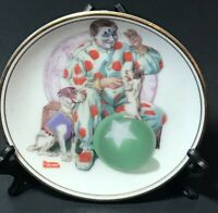 """Clown"" The Best Of Norman Rockwell - 1983 Miniature Collectors Plate"