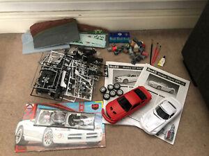 Revell (Airfix) Model Kit Shelby GT500 + Dodge Viper SRT-10 1/25 + Extras