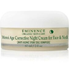 Eminence Monoi Age Corrective Night Cream for Face & Neck 2 oz NEW in BOX